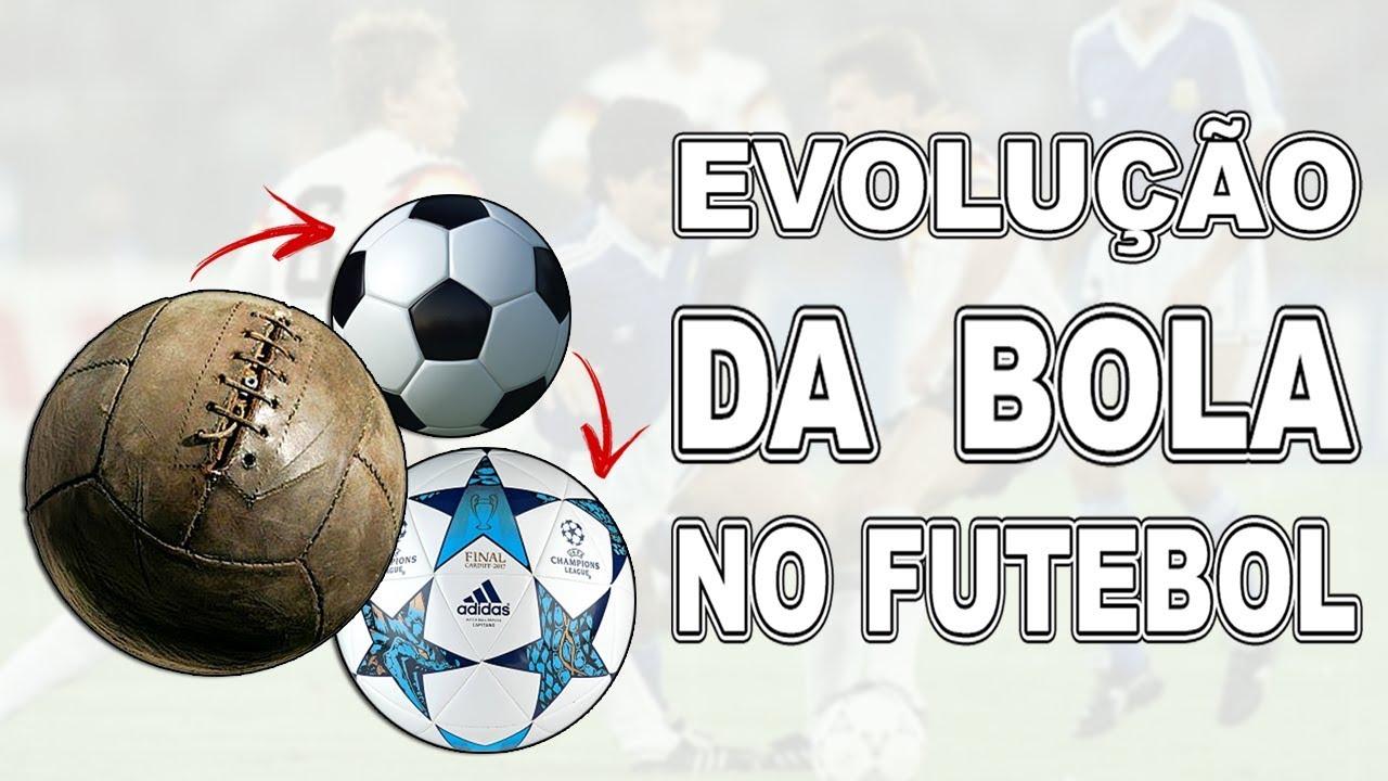 A EVOLUÇÃO DAS BOLAS DE FUTEBOL - YouTube ee548c9d9a64b