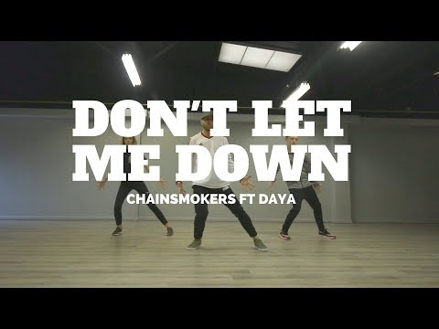 MentalHealthAwarness DON&39;T LET ME DOWN - CHAINSMOKERS  Choreography Chris Parry