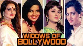 Bollywood Actresses Who Lost Their Husbands -  Rekha, Zeenat Aman