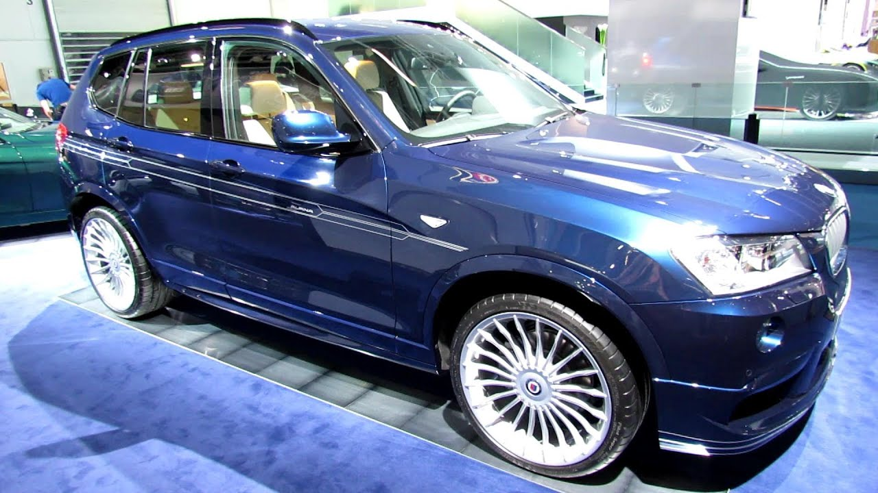 2014 Bmw X3 Alpina Xd3 Bi Turbo Exterior And Interior Walkaround 2013 Frankfurt Motor Show