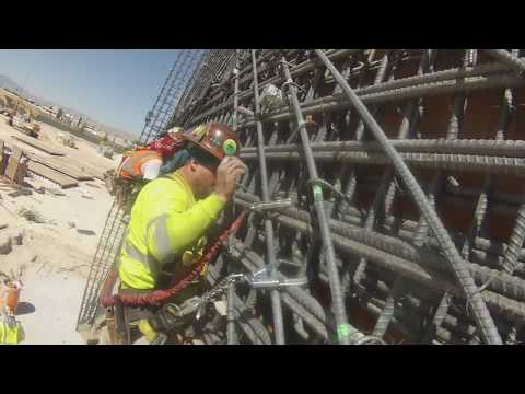 Local 416 Ironworkers Las Vegas Arena - YouTube