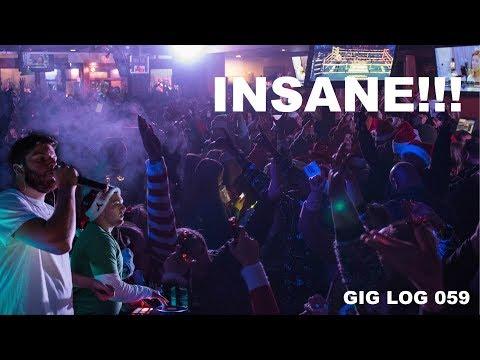 HOLY PACKED | Santa Fest INSANE | GIG LOG 059