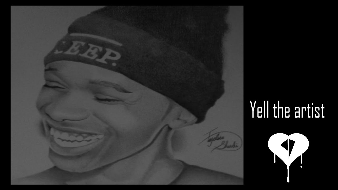 Pencil portraitdrawing of lil snupe rapper youtube altavistaventures Images