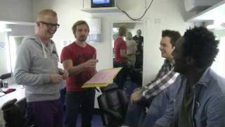 Blue Peter Chris Evans looks behind the scenes CBBC BBC Radio 2