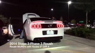 Kooks O/R X Roush Mufflers- 2014 Stage 3 Phase 3 Roush thumbnail