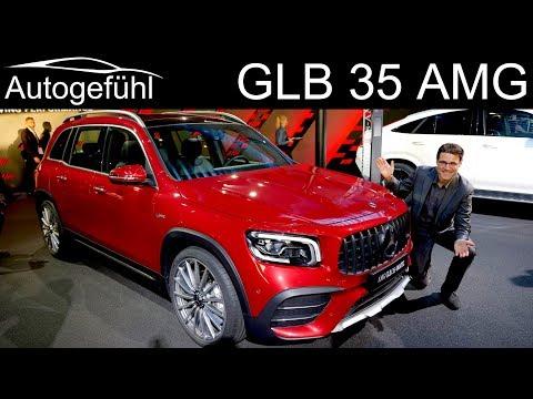 Mercedes GLB 35 AMG REVIEW Exterior Interior Mercedes-AMG GLB 35