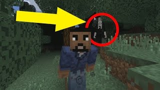 Slenderman In Minecraft Pocket Edition ( Minecraft Addon)