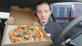 Vegetarian Pizza from McDonald's is not a Myth