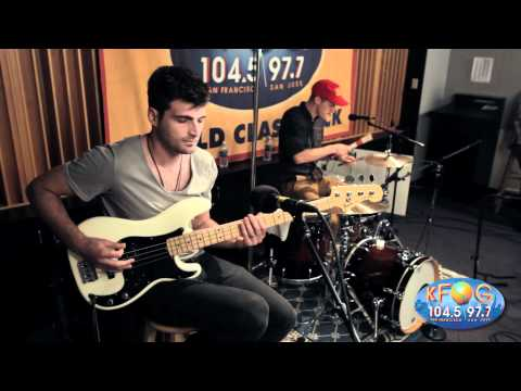 Foster The People - Pumped Up Kicks  (Live At KFOG Radio)