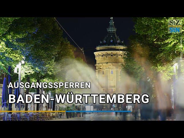 Corona Hotspots In Baden Wurttemberg Staatsministerium Kundigt Nachtliche Ausgangssperren An Baden Wurttemberg Stuttgarter Zeitung