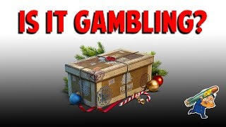 Are World of Warships Containers Gambling and Thoughts on Loot Crates