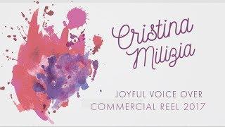 Video Cristina Milizia Voice Actor: Joyful Commercial Reel 2017 download MP3, 3GP, MP4, WEBM, AVI, FLV Desember 2017