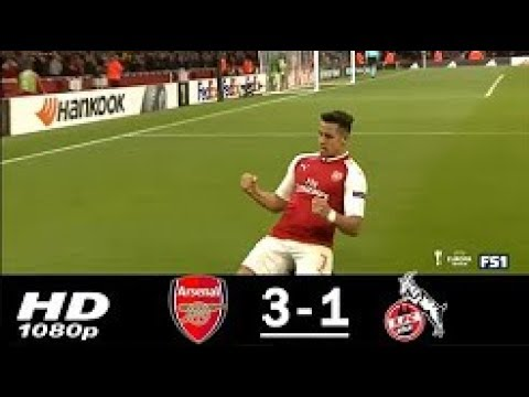 Arsenal vs koln 3-1 extended highlights & goals - europa league 14 sep 2017