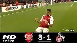 Arsenal vs Koln 3-1 Extended Highlights & Goals - Europa League 14 Sep 2017