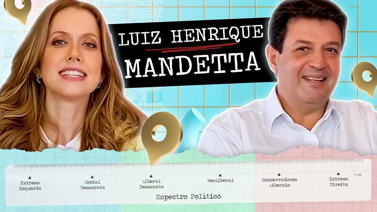 """""""A ESPERANÇA NASCE DA INDIGNAÇÃO E DA CORAGEM"""" - GPS Político com Luiz Henrique Mandetta"""