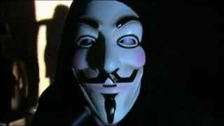 The Leader of AnonYmous Shows His Face For First Time