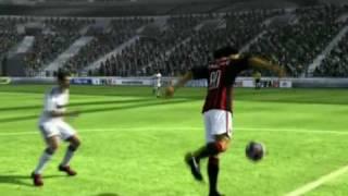 Набивание мяча, финты и красивые удары в FIFA 09 на Xbox 360
