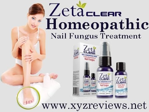 Zetaclear Homeopathic Nail Fungus Treatment  – A Review