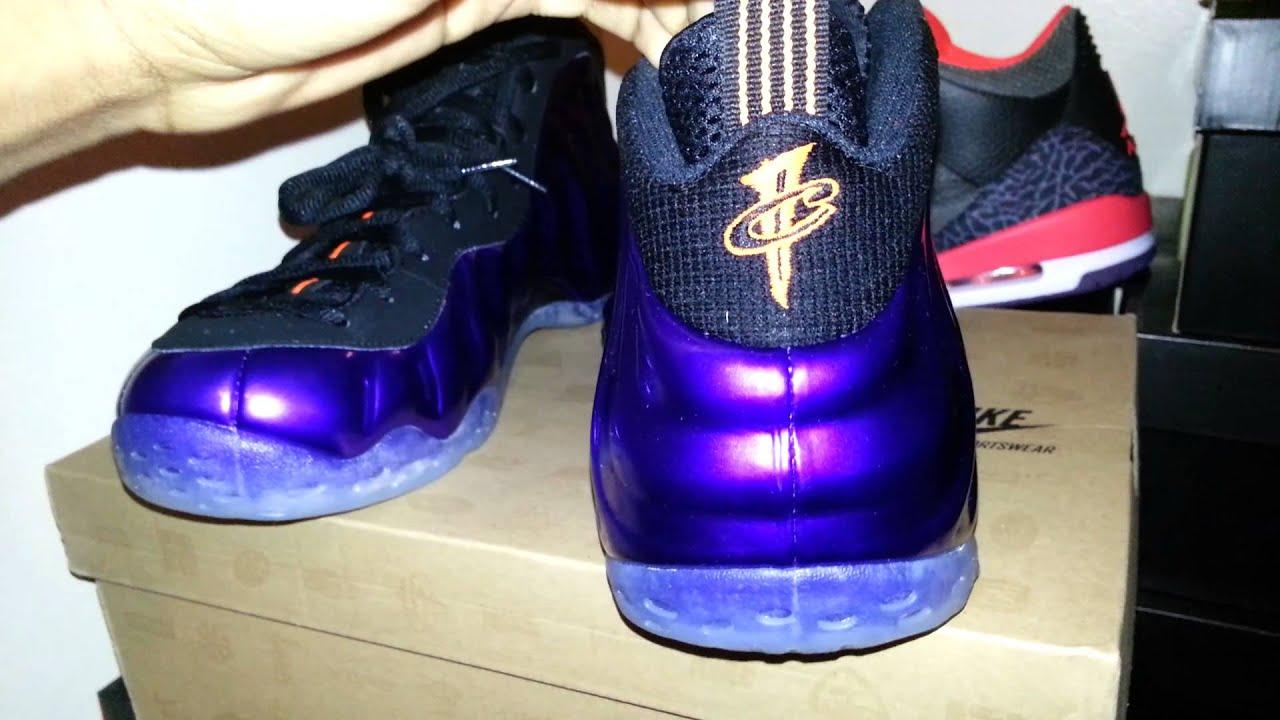 los angeles 8a170 49a69 Nike Foamposites Phoenix Suns On Feet