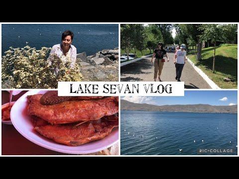 Yerevan - Sevan Vlog. Озеро Севан. Едем Семьей Отдохнуть. Кафе. Пляж. Вода Уже Прогрелась😎.