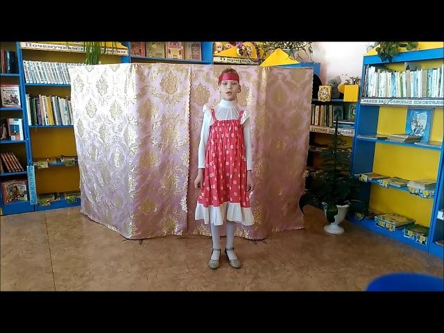 Изображение предпросмотра прочтения – АннаБабукова читает произведение «Весна красна» (Русский фольклор )