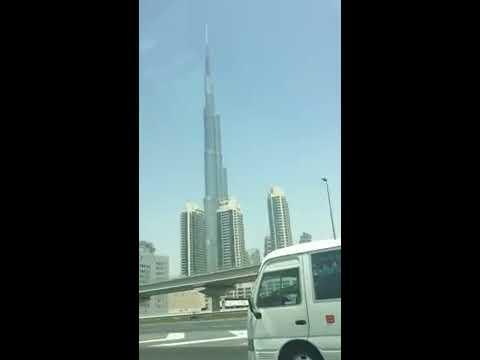 dubai ko burj khalifa najikai