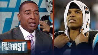 Cris Carter reacts to Panthers loss to the Saints on Monday night | NFL | FIRST THINGS FIRST thumbnail