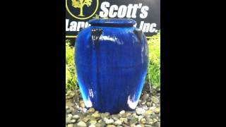 Blue Urn Water Feature
