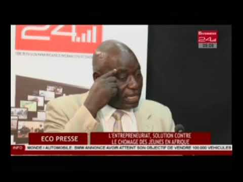 Business 24  / Eco Presse  -  L'entrepreneuriat , solution c