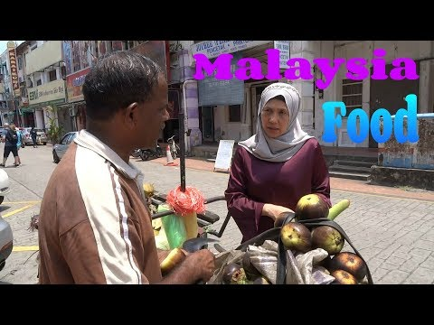 SEA COCONUT, LODOICEA, HOW TO OPEN A COCONUT, EXOTIC FRUIT, COCONUT VENDOR IN PENANG,