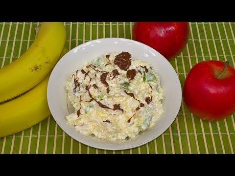 Płatki Jaglane z Owocami na Śniadanie