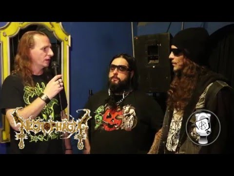 Necrophagia  Interview  San Francisco  on Capital Chaos TV
