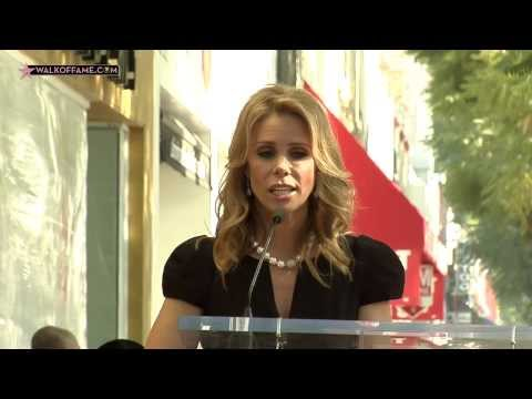 CHERYL HINES STAR ON THE HOLLYWOOD WALK OF FAME CEREMONY
