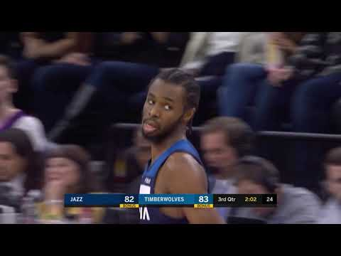 Highlights: Andrew Wiggins Scores 35 Points vs. Jazz