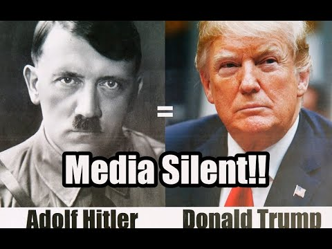 SHOCKING Similarities Between Trump And Hitler | Media SILENT | TheBear