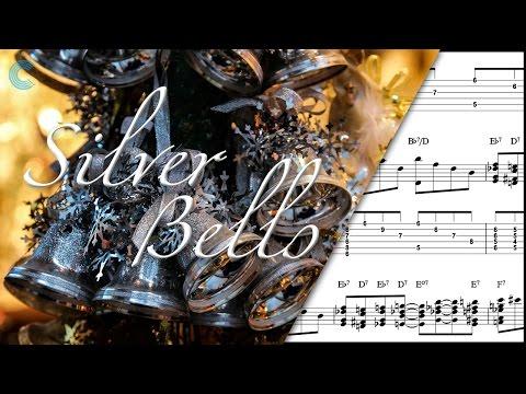 Guitar  - Silver Bells - Christmas Carol - Sheet Music, Chords, & Vocals