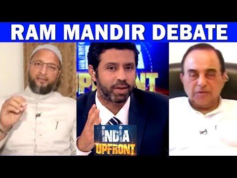 Ram Mandir Issue - Asaduddin Owaisi Vs Subramanian Swamy | India Upfront With Rahul Shivshankar