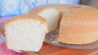 Receita de Bolo Sem Farinha de Trigo e Sem Lactose