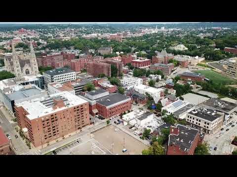 Aerial Tour Of CMU Campus