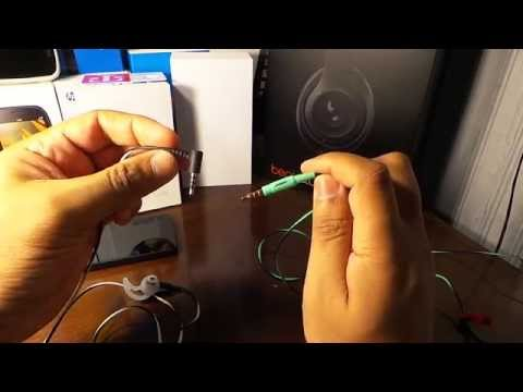 Bose Freestyle Tip Vs  MIE2i Mobile Headset Angle Tip