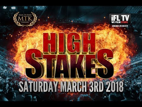 MTK GLOBAL PRESENTS ... 'HIGH STAKES' - LIVE PROFESSIONAL BOXING FROM ESSEX - 03/03/12