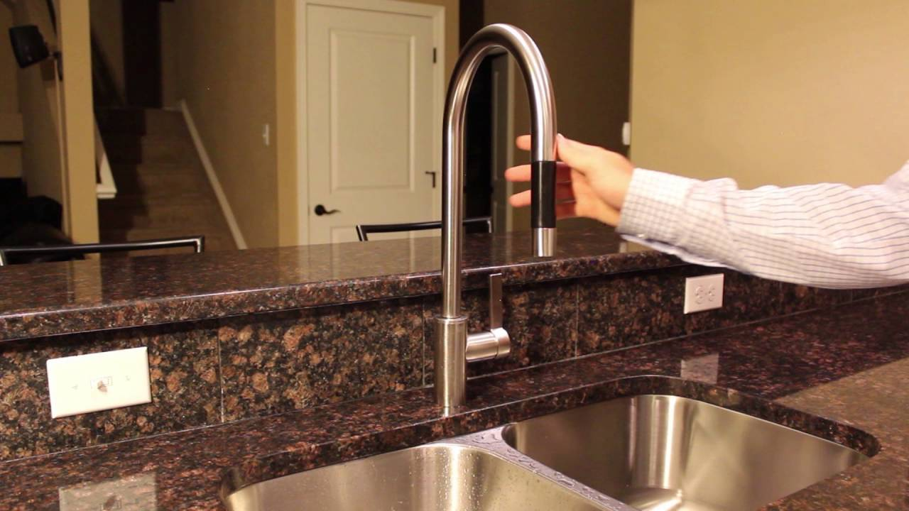 Dornbracht Tara Pull Down Kitchen Faucet Review - YouTube