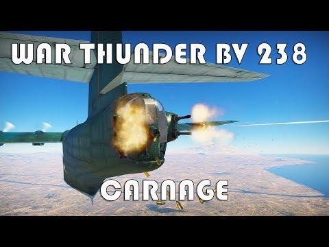 War Thunder - BV 238 - Carnage
