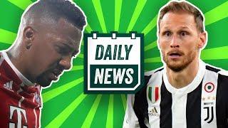 FC Bayern: Champions League, Boateng Transfer & WM-Aus? Höwedes bleibt bei Juventus? Daily News