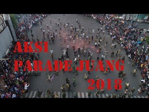 Parade SURABAYA JUANG 2018, Merdeka!!!