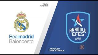 EuroLeague Playoff 4. Maç: Real Madrid - Anadolu Efes