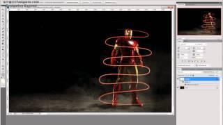 Уроки в Photoshop CS5 - #2 (Светящиеся спирали)