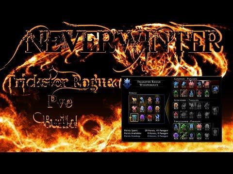 Neverwinter - Lvl 70 Trickster Rogue WK Saboteur/Exec PVE Build