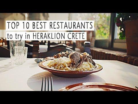 Top 10 Best Restaurants to Try in Heraklion / Daily CRETE Greece