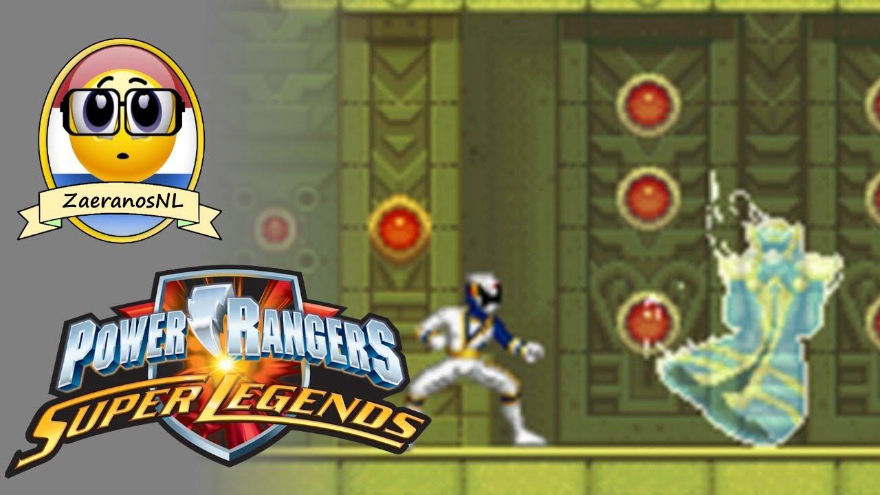 Download Gameplay: Power Rangers Super Legends [NDS]